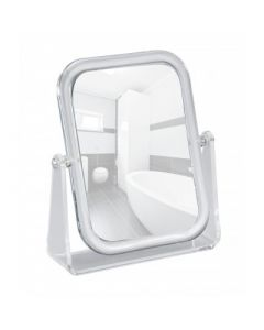 Scheerspiegel-Make-up spiegel Noci staand rechthoek model 3x vergrotend
