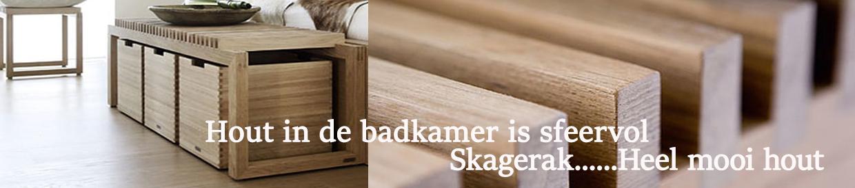 skagerak houten badkameraccessoires
